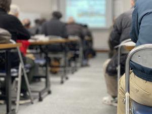 講習会場の風景