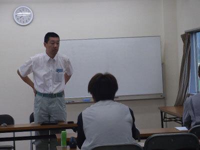 講習を行う小林労働安全コンサルタント
