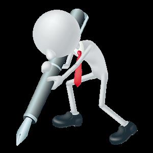 書類を作成する労働安全コンサルタント